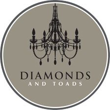 logo Diamonds and Toads